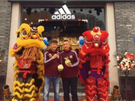 Adidas全新品牌旗舰体验店落户榕城中央第五街