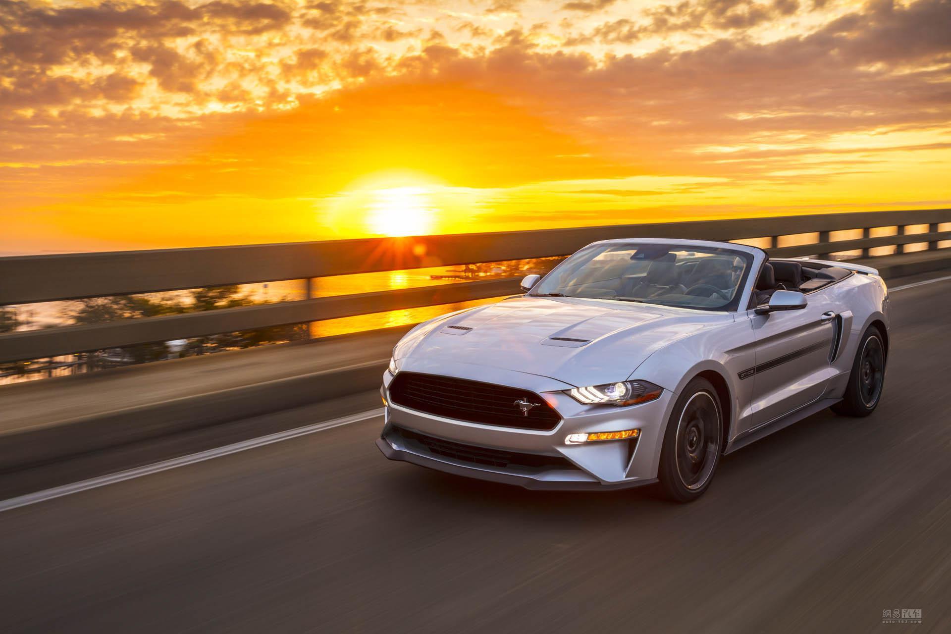 复古设计 Mustang加州特别版将夏季上市