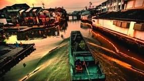 温瑞塘河的故事 船的