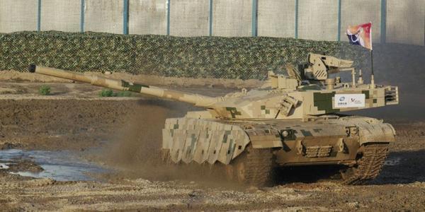 泰国即将开始装备中国VT4坦克:不逊于99式