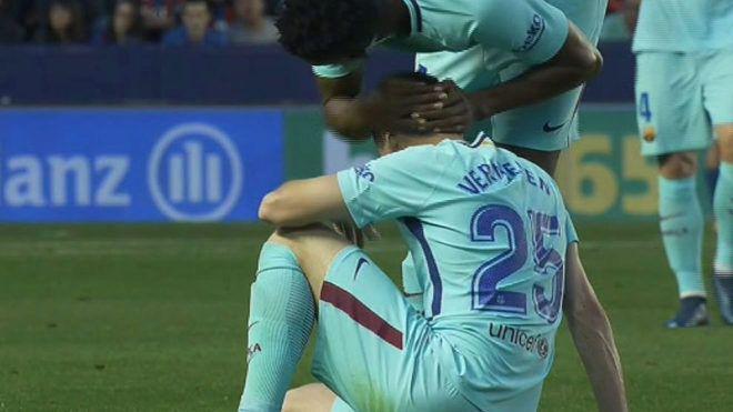 巴萨大祭司叕伤了!遭西甲生涯首败 世界杯也悬了