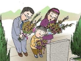 低碳出行 文明环保:绿色祭扫渐成新风尚