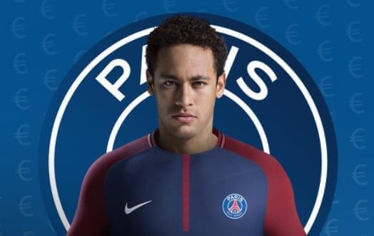 史上第一转会!巴黎宣布内马尔加盟2.2亿欧天价!
