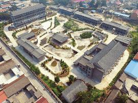 绛州澄泥砚文化园占地41亩 总投资3918万元