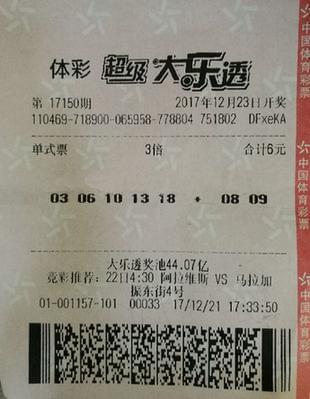 年过古稀老太太6元中84万大奖:要给小儿子买房!