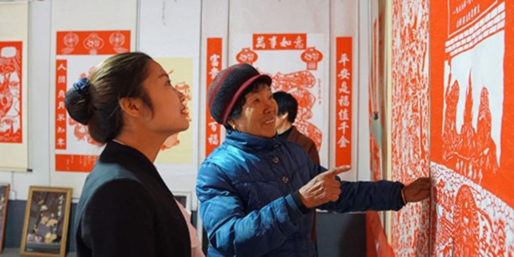 吴梅玉——64岁学剪纸 13年后成高手