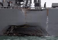 美国给军舰碰撞事故找理由:不排除网络攻击