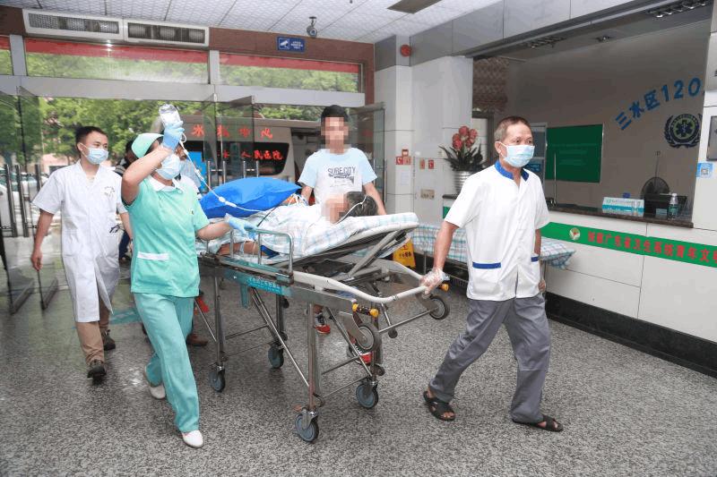 三水人民医院124公里外接心梗病人 26分钟抢救成功