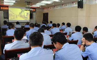 潜江市食药监局组织观看警示专题教育片