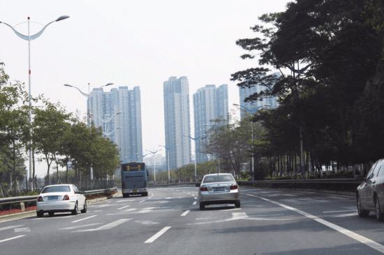 顺德红旗路快速化改造工程现已完成总工程量约50%