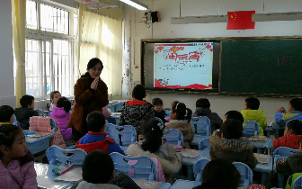 青岛莱芜一路小学师生同乐 共迎元宵佳节