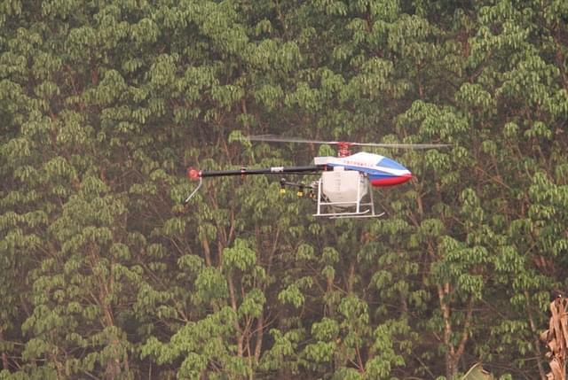 农用植保无人机有贵阳造 初次出口老挝订单达200架
