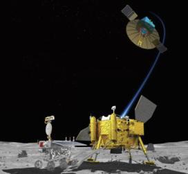 率先在月球背面着陆的嫦娥四号