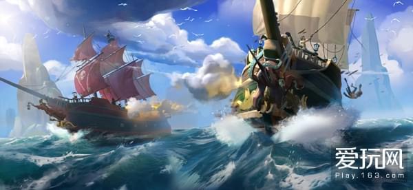E3《盗贼之海》新预告演示寻宝、海战等新系统