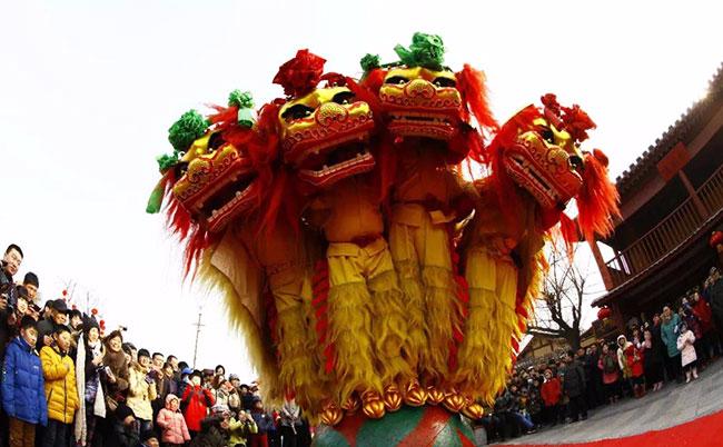 大红灯笼高高挂   春节来清园感受喜庆吉祥中国年