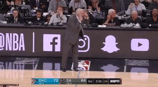 【影片】波波被爭議哨惹怒當場飆髒話:你們仨裁判都眼瞎吧!-Haters-黑特籃球NBA新聞影音圖片分享社區