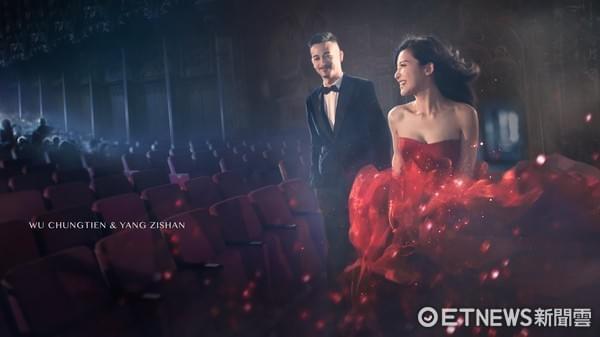 吴中天杨子姗宣布10日举行婚礼 嘉宾名单未公布
