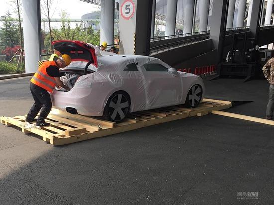 2017上海车展探馆:新款奥迪RS5 Coupe