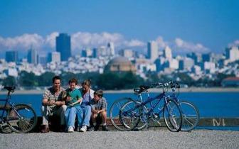 """""""骑行天堂""""旧金山 细数最美5条骑行路线"""