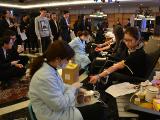 中行宁波市分行组织开展员工义务献血活动
