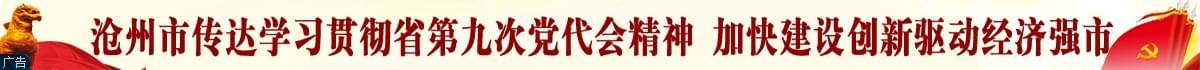 沧州市传达学习贯彻省第九次党代会精神