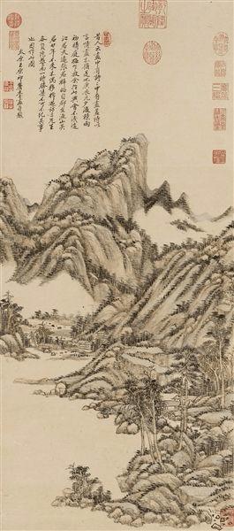 画中有诗:崇尚摹古的清前期绘画
