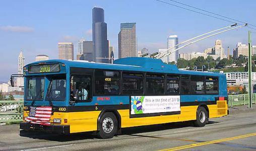 留学生谈美国公共交通:美国公交车不会每站都停