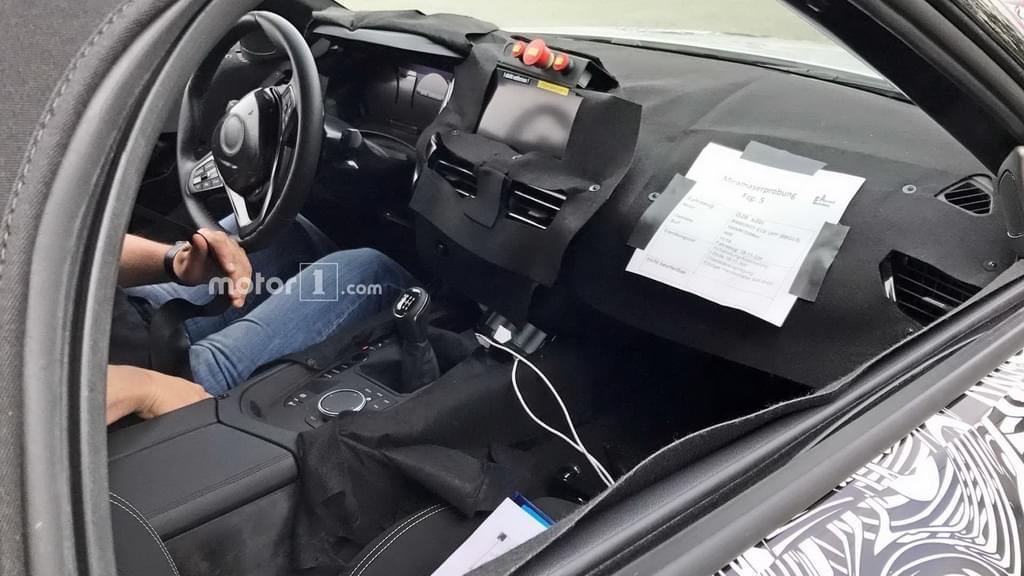 和丰田共享平台 全新宝马Z4开始国内路测