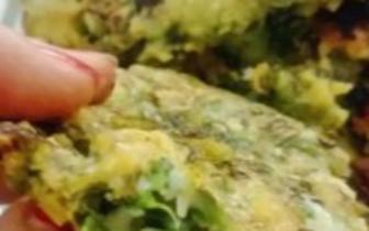 炸安豆苗饼,是我黏糯的青葱岁月