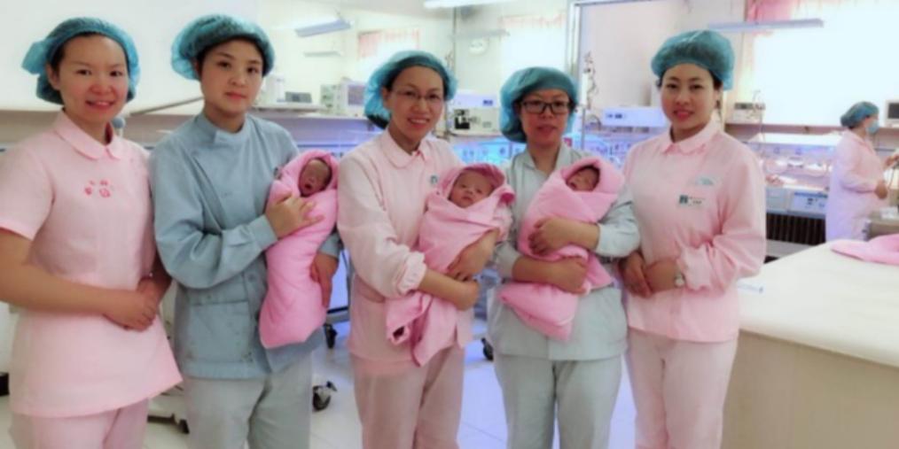 """邯郸:孕育29周诞下的""""袖珍三胞胎""""出院啦"""