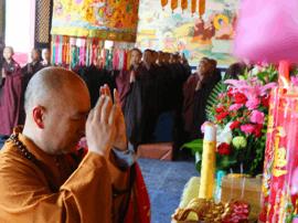 五台山普化寺隆重举行千僧斋祈福法会