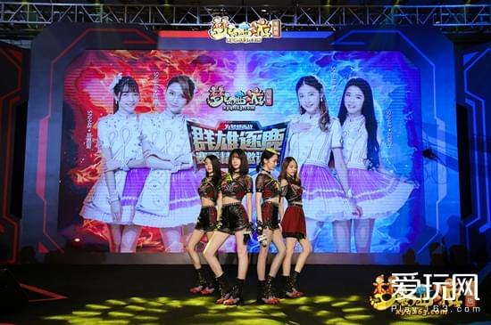作为神器局的成员,SNH48也亮相现场