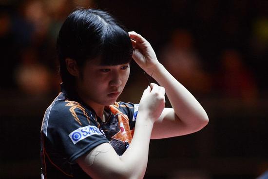 世乒赛、中国公开赛、澳洲赛平野都负中国选手。