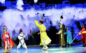 首部少儿历史舞台剧《杨门女将》首演