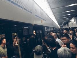 今早高峰上海地铁8号线故障 目前故障已排除