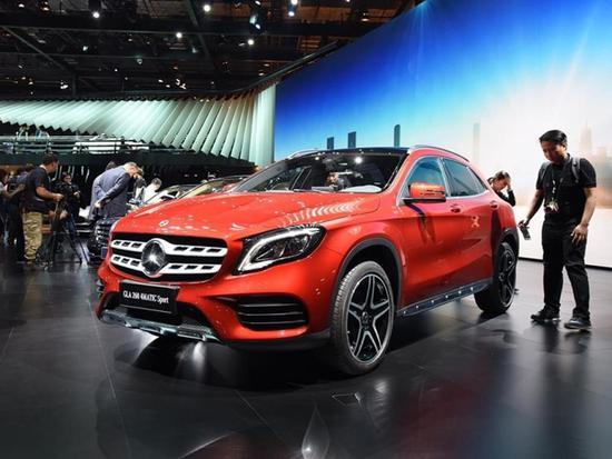 两种外观造型 北京奔驰新款GLA将6月上市