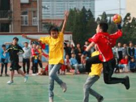 2017年晋中市小学生手球比赛完美收官
