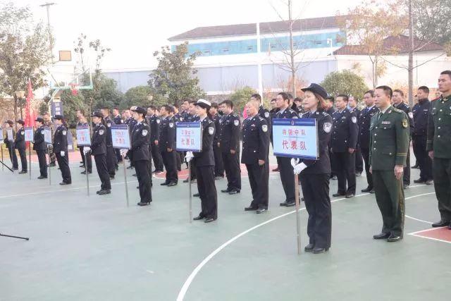 丰富警营文化 松滋市公安局举行第三届篮球比赛