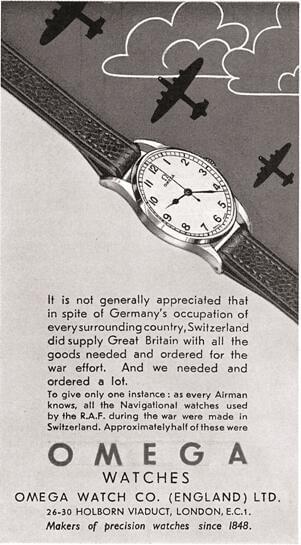 欧米茄腕表——从战壕到敦刻尔克