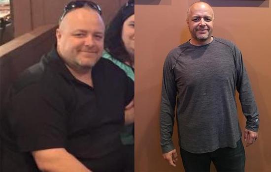男子得知患糖尿病后 跑步11个月瘦72斤