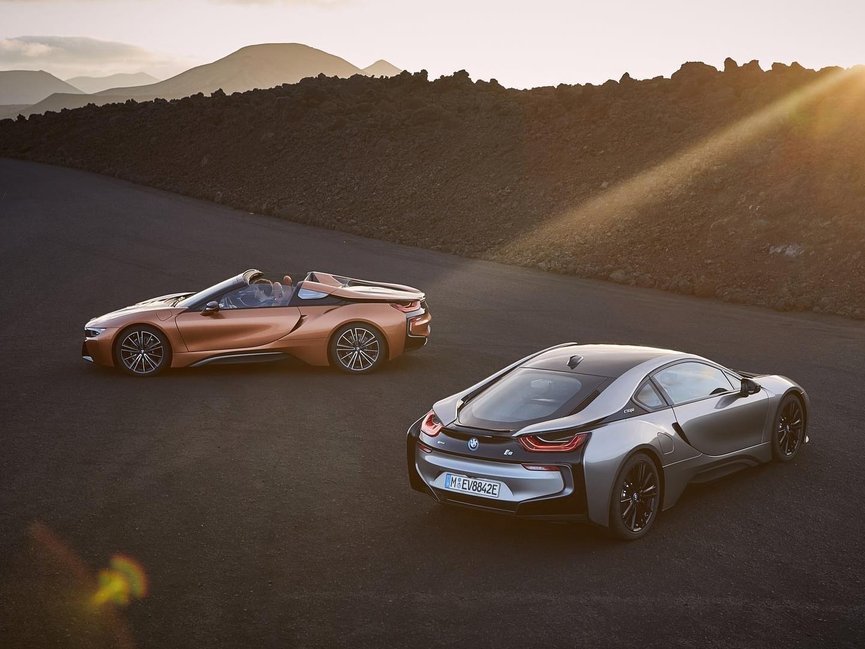 i8 Roadster与i8 Coupe