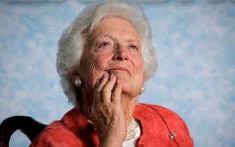 芭芭拉·布什逝世多方缅怀 美第一夫人将出席葬礼
