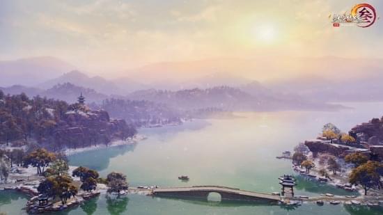 西湖写意美景