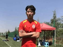 「国字号」亚泰张佳硕入选全国U16集训
