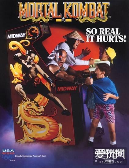 当年Midway花了巨资对游戏进行推广