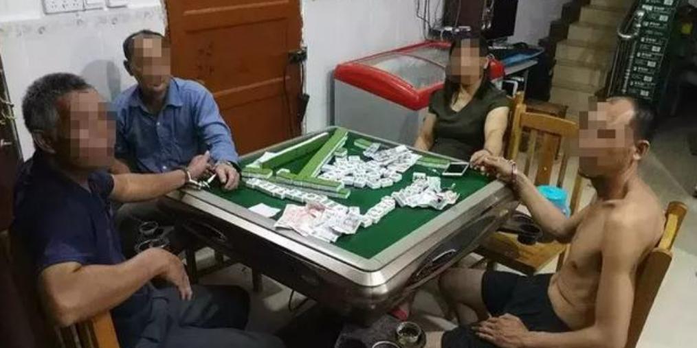 防城开展打击涉黄赌活动 抓多名嫌疑人
