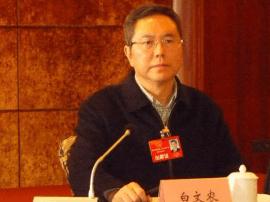 万州区长白文农:坚定不移推进扶贫开发工作