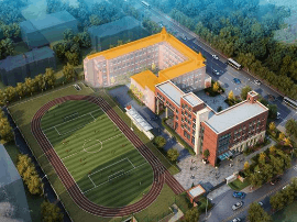 人民二小将改扩建 新建总建筑面积达6643.06平方米