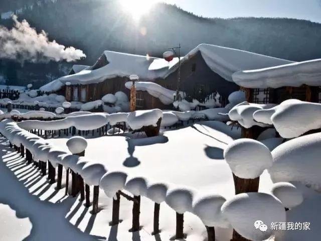 看雪真的没必要非去东北!雪景 我只服新疆!