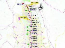 地铁2号线南段将与太原至晋中城际衔接换乘